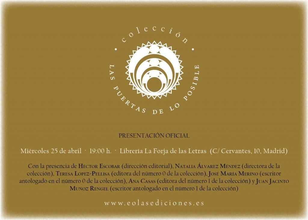 Datos sobre la presentación en Madrid